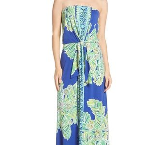 Lilly Pulitzer Rosalina Strapless Maxi Dress